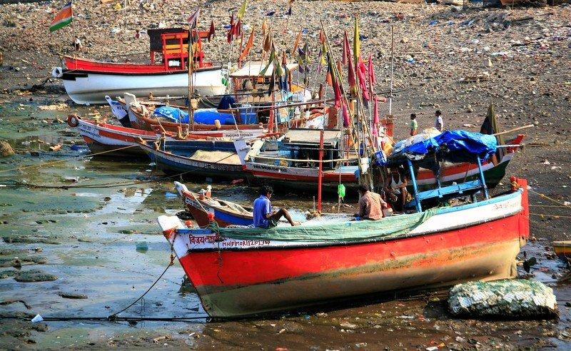 ...открытка о индиских рыбаках - 2....photo preview