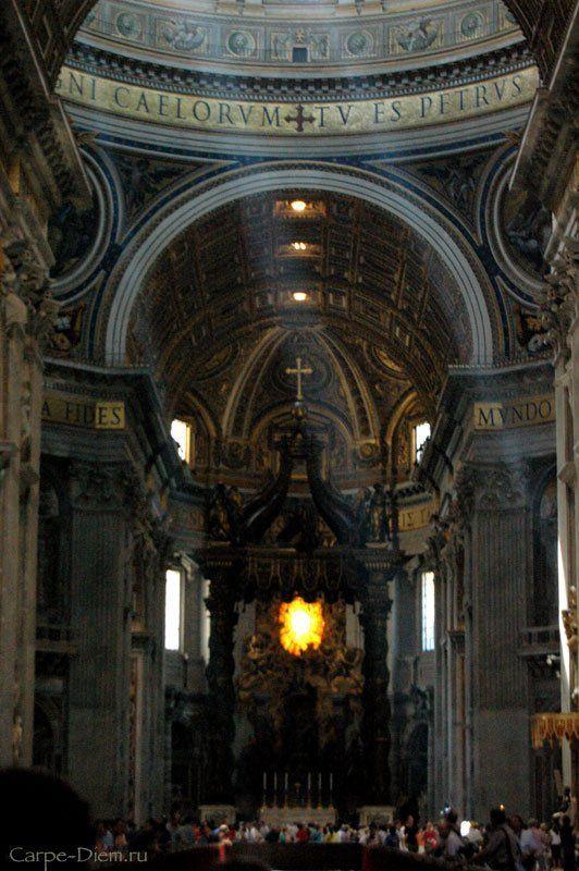 собор святого петра, рим, лучи Собор Св.Петраphoto preview