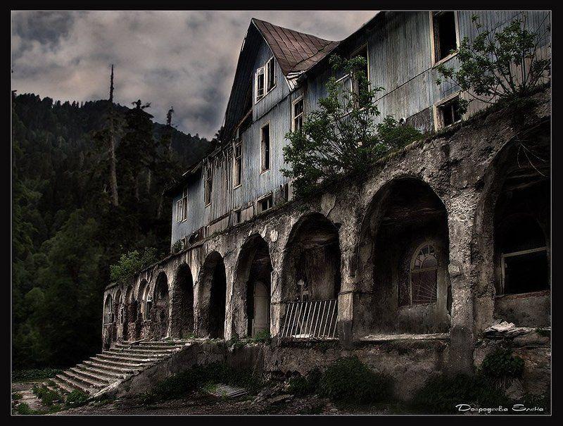абхазия,санаторий,горы Было время...photo preview