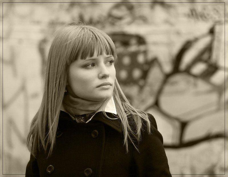 девушка, нежность, грусть, портрет О нежности и грустиphoto preview