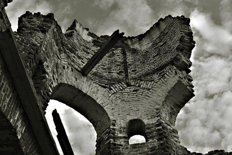 развалины, архитектура, небо Последний день Помпеиphoto preview