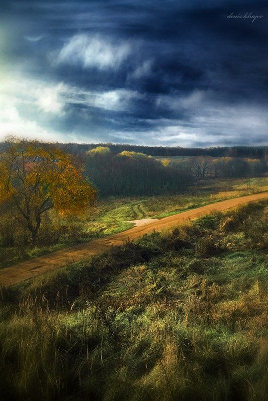 фото, пейзаж, деревня, ромашково, осень True Colorsphoto preview