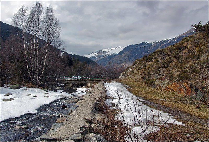 горы, андорра, весна Андорра весенняя...photo preview