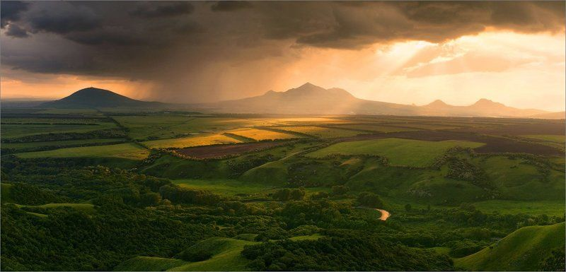 кмв, пятигорск, кавказ, закат Симфония светаphoto preview