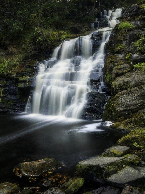 водопад белые мосты в карелииphoto preview