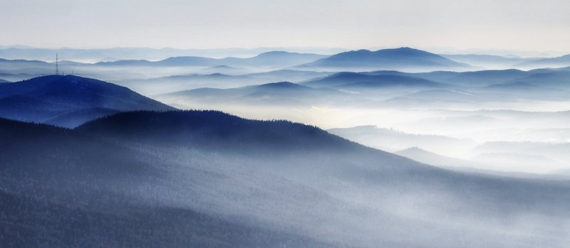 горная шория, сибирь, шерегеш, горы Синие горы Шерегешаphoto preview