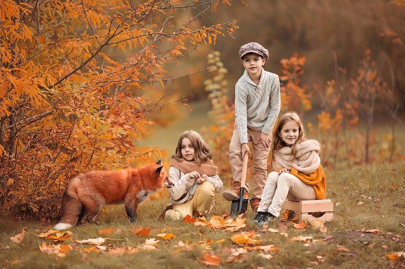 фотопрогулка, детская фотосессия, осень, дети, детская фотосессия, детский фотограф, фотосессия, радость, девочки, мальчики, счастье, детский и семейный фотограф, детское фото, дети на фото, детки, фотоистория, друзья, восторг В поисках клада...photo preview