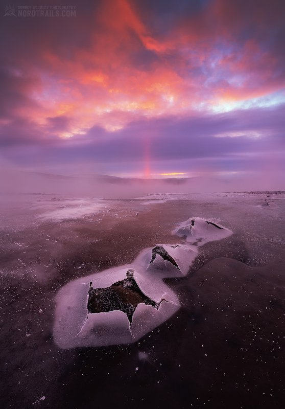 кольский, кольский полуостров, кандалакша, зима, winter, snow, north Они вернулисьphoto preview