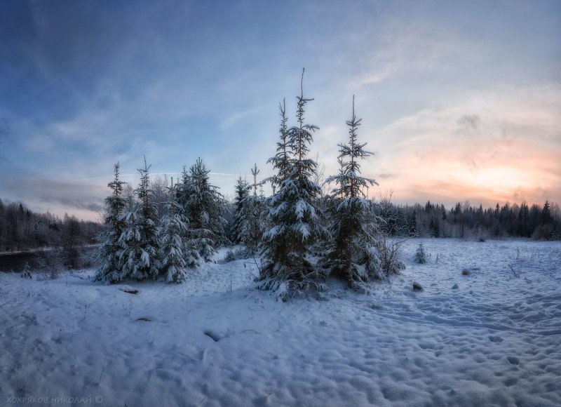 Первая-снежная...photo preview