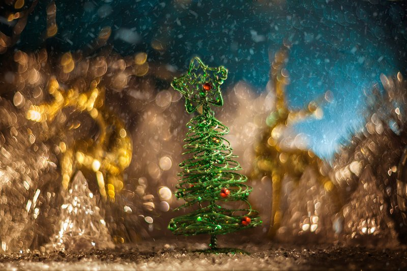 новый год, праздник, боке, елка, bokeh, newyear Праздник к нам приходитphoto preview