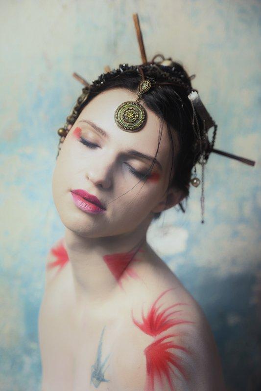 girl, woman, арт, женщина, девушка, модель, model, portrait, портрет Zaneta | Жанетаphoto preview