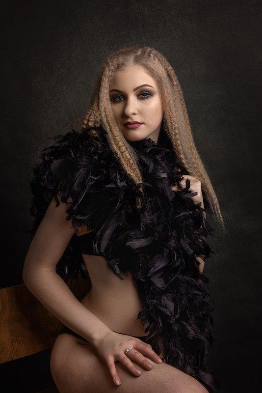 портрет девушкиphoto preview