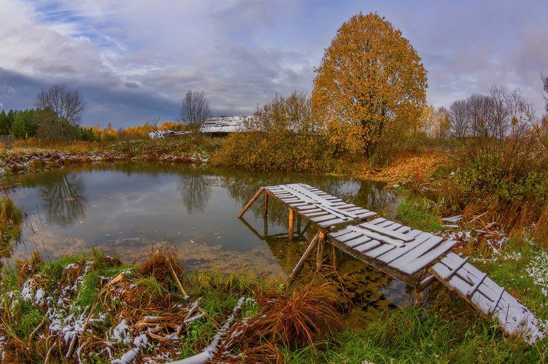 Припорошило... Осенний снежок )photo preview
