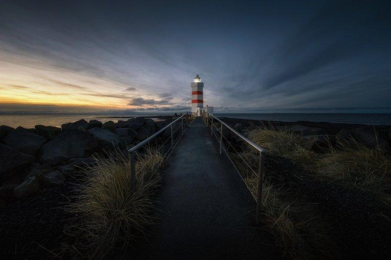 исландия, маяк Маяк Gardiskagi1...photo preview