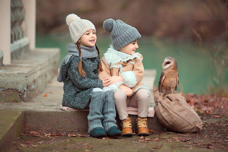 фотопрогулка, детская фотосессия, зима, декабрь, дети, детская фотосессия, детский фотограф, фотосессия, радость, девочка и мальчик, сова, счастье, детский и семейный фотограф, детское фото, дети на фото, красота, красивые детки, друзья, дружба, вечер *****photo preview