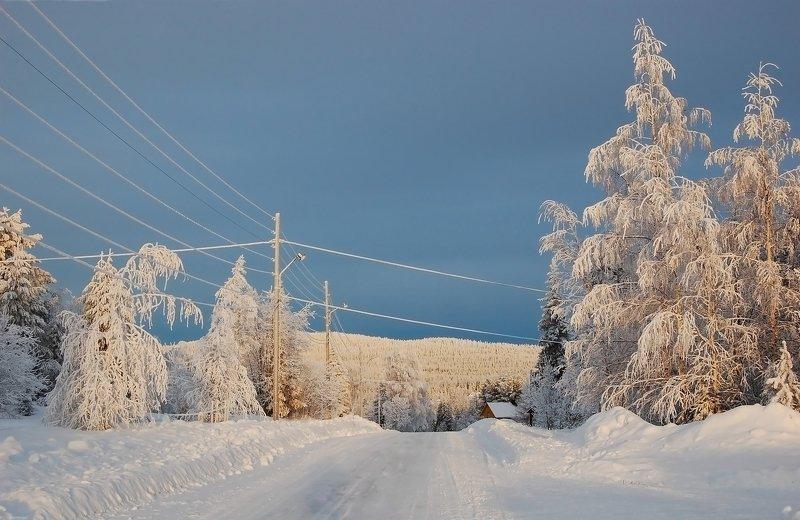 швеция Загудели заиграли провода...photo preview