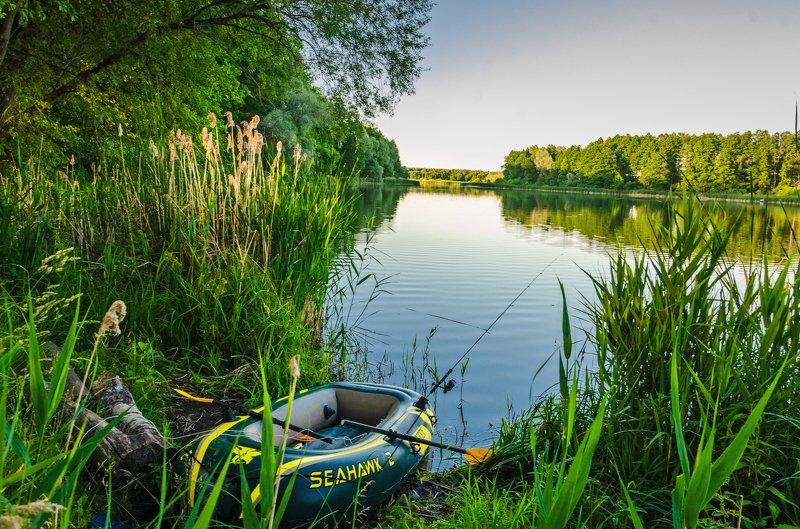 nevant60, пейзаж, красота, природа Лесное озероphoto preview