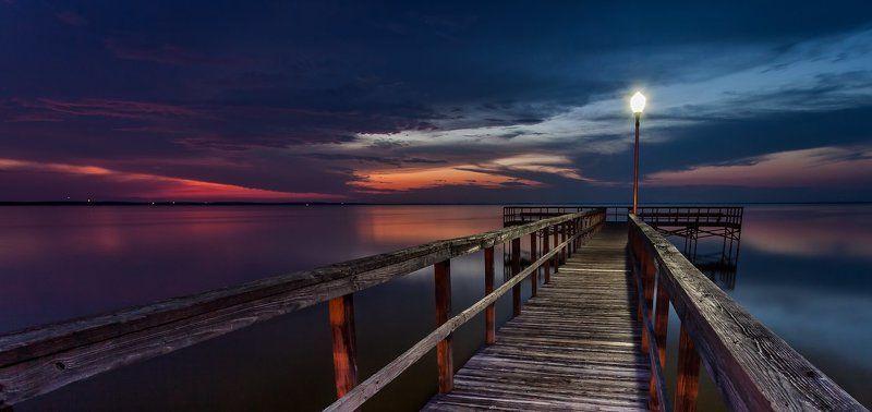 Закат на озере Апопкаphoto preview