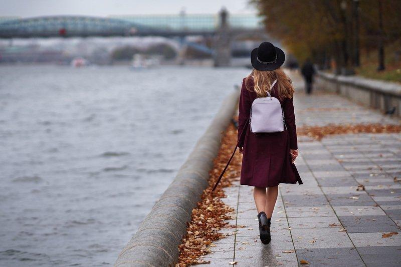 Осень, портрет, девушка Осеньphoto preview