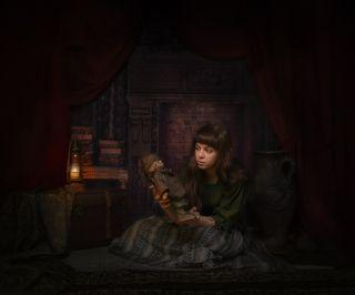 Тайна старинной куклы