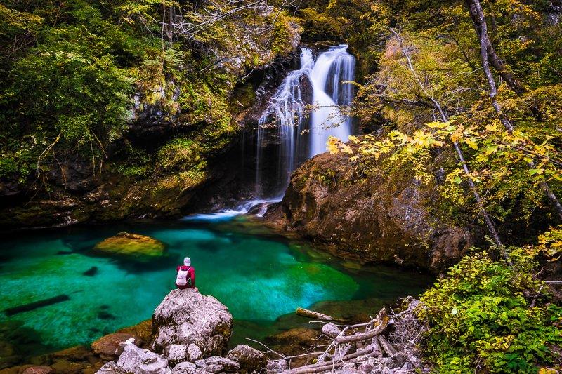 ущелье,винтгар,словения,водопад,шум ***photo preview