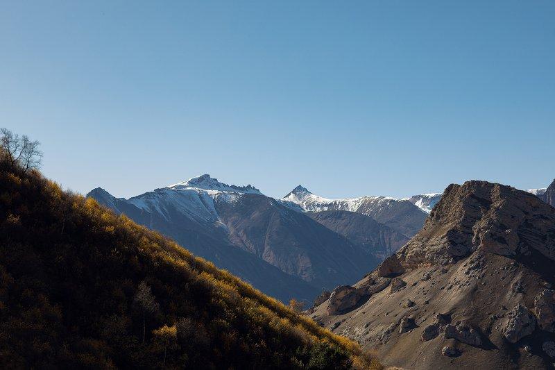 КБР, Кавказ, горы, пейзаж Осень в горах Кабардино-Балкарииphoto preview