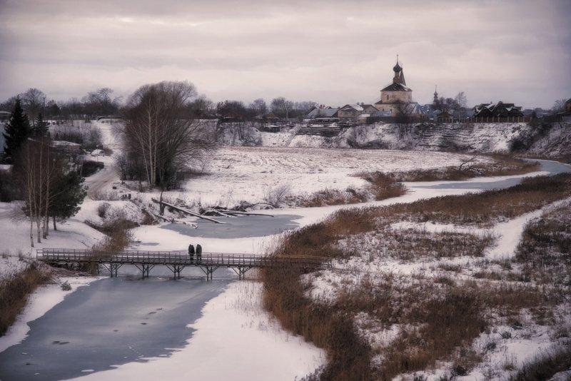 суздаль, зима, россия Зимний Суздальphoto preview