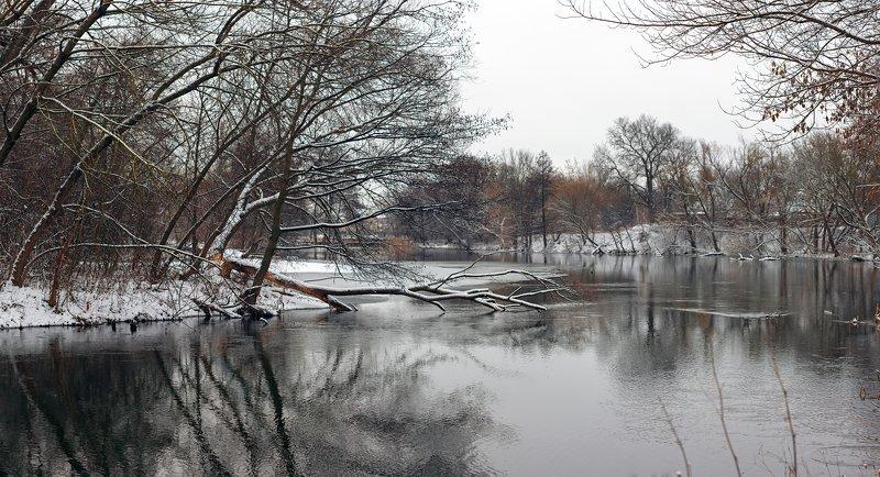 река,вода,деревья,снег,зима Река Оскол ( г. Старый Оскол )photo preview