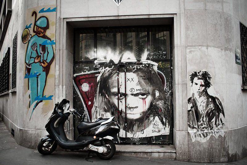 Street art underground (Paris 2012)photo preview