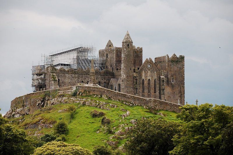 кэшел, скала, св. патрик, ирландия Кэшелская скалаphoto preview