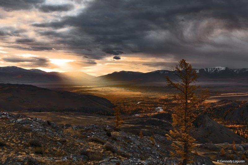 алтай, altai, осень, autumn, горы, mountains Рождение нового дняphoto preview