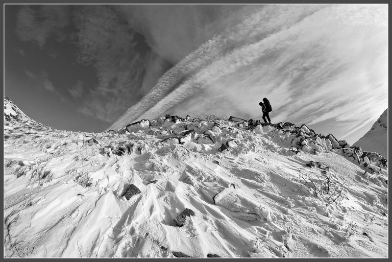 горы семиглавая походы пейзаж И снег и ветер ...photo preview