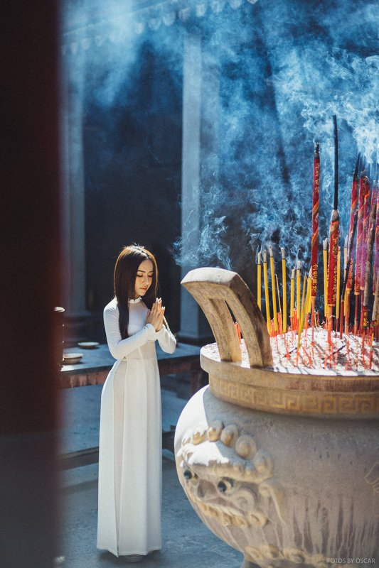 aodai Buddhist templesphoto preview