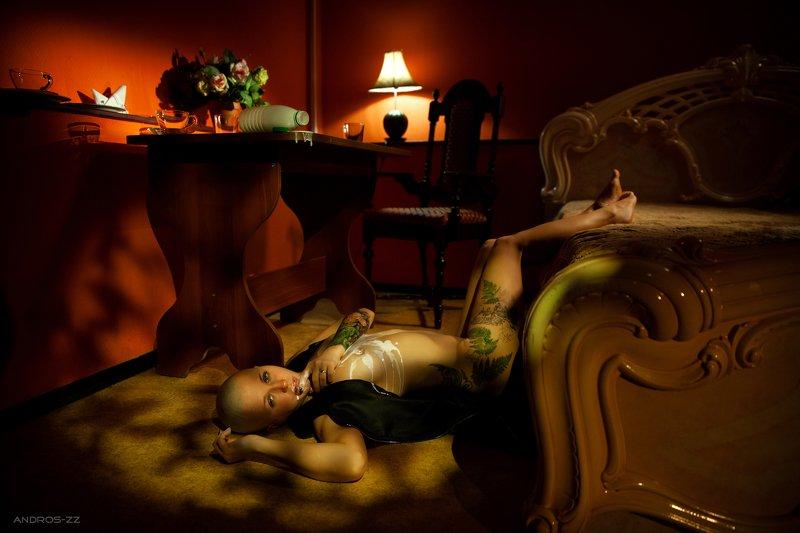 кинематографическая_фотография, cinematografic_pfoto, cinema, tattoo, tattoogirl, будуар, boudoir, andros-zz Boudoirphoto preview