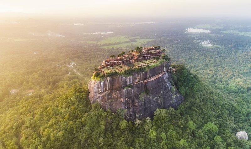 sigiriya, sri-lanka, sunset, шри-ланка, цейлон, сигирия, закат Sigiriya Rock , Sri-Lankaphoto preview