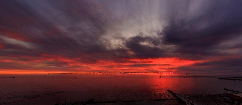 сочи, природа, море, закат Зимние закаты, Сочиphoto preview