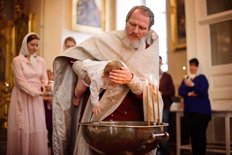 Крещение в Спасо-Преображенскомphoto preview
