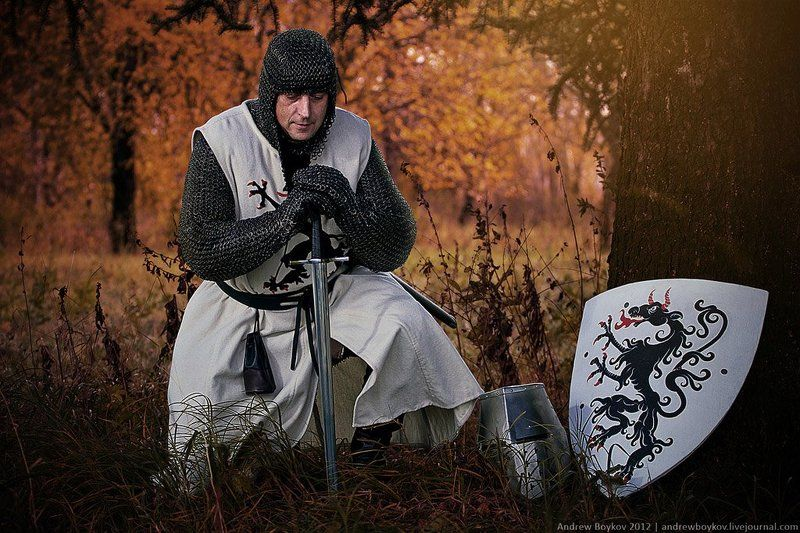 Knight in the woodsphoto preview