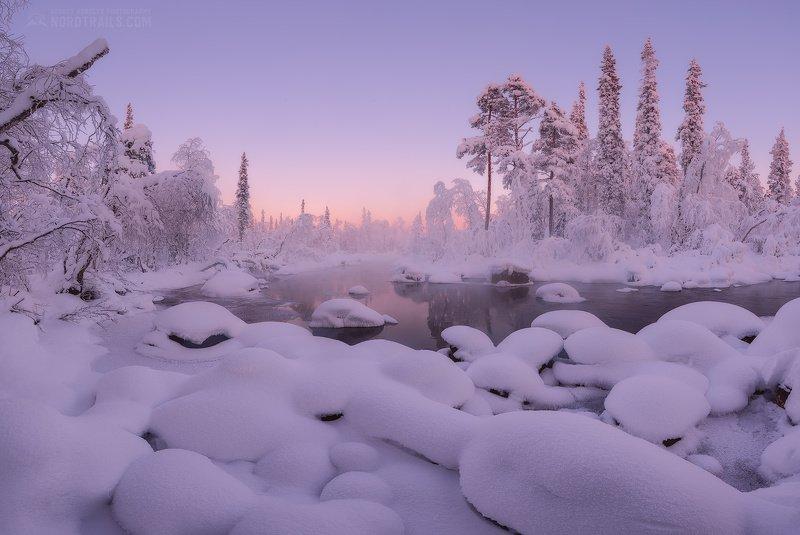 кольский, кольский полуостров, кандалакша, кировск, мурманск, зима, winter, snow, north В разгаре северной зимыphoto preview