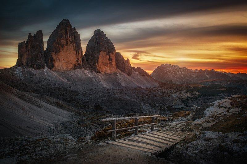 альпы италия доломиты тре-чиме Горный массив Тре-Чиме-ди-Лаваредоphoto preview