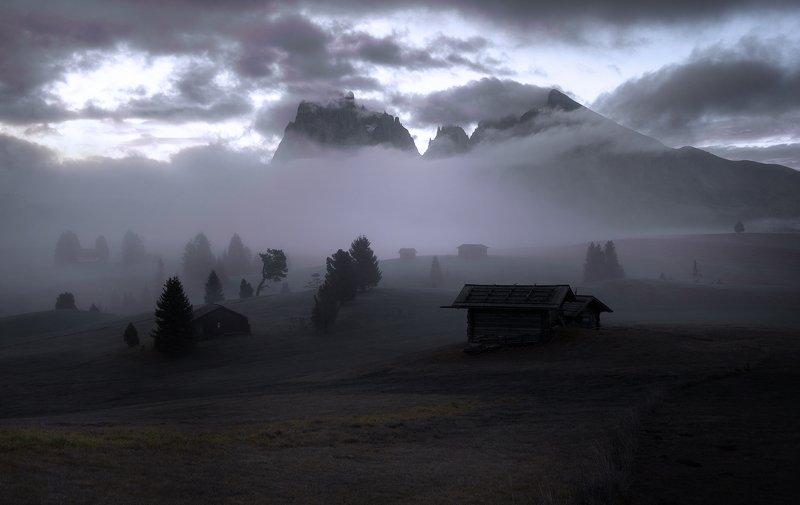 Alpe Di Siusi - Доломитиphoto preview