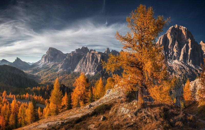 альпы италия доломиты Альпийская осеньphoto preview