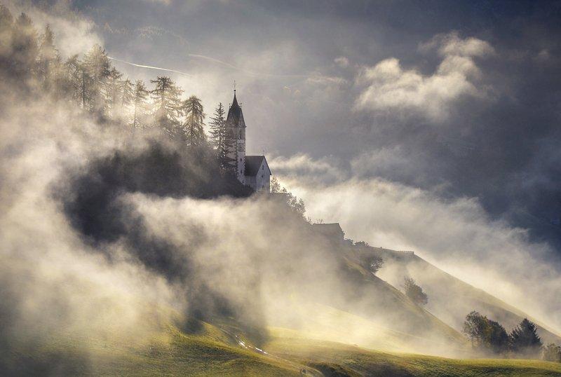 туман Италия Доломиты Туманphoto preview