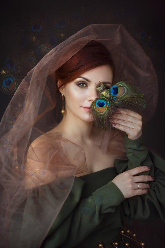 портет, женщина, креативная фотосессия, арт photo preview