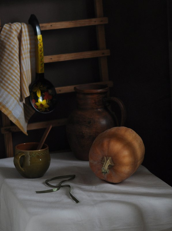 Натюрморт с тыквой......photo preview
