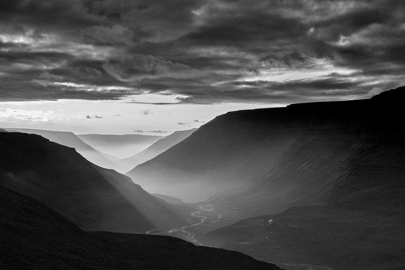 плато путорана, закат, горы, река 5.photo preview