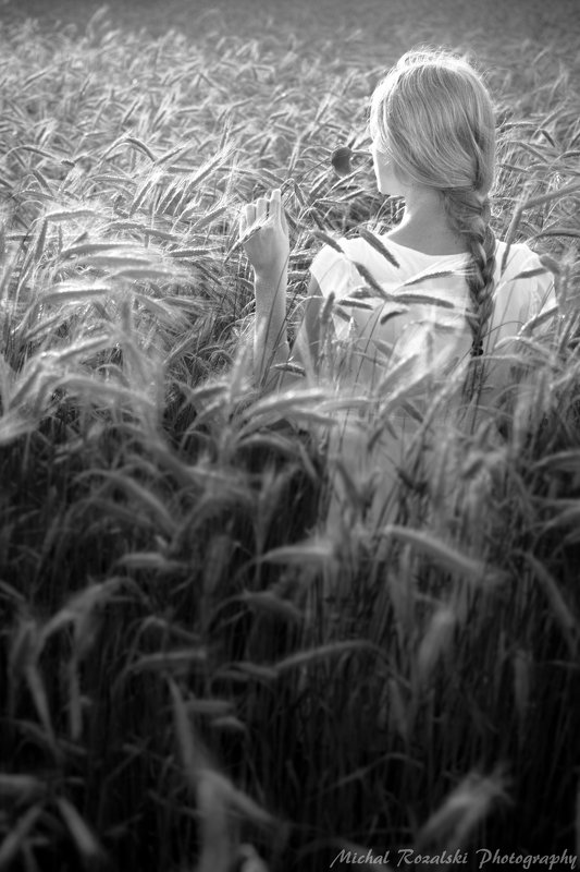 blackandwhite, ,girl, ,fields, ,crops, ,harvest, ,artistic, ,portrait, , \