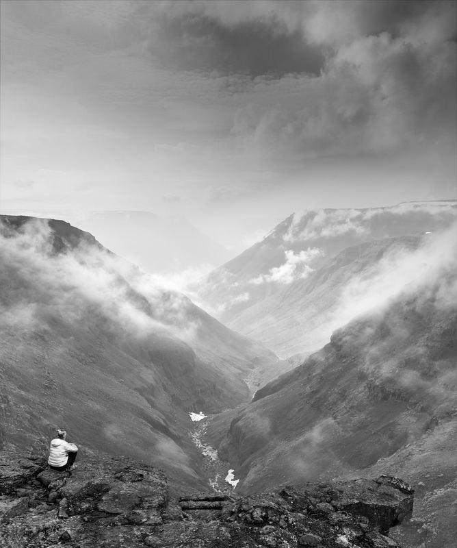 плато путорана, горы, облака, таймыр photo preview