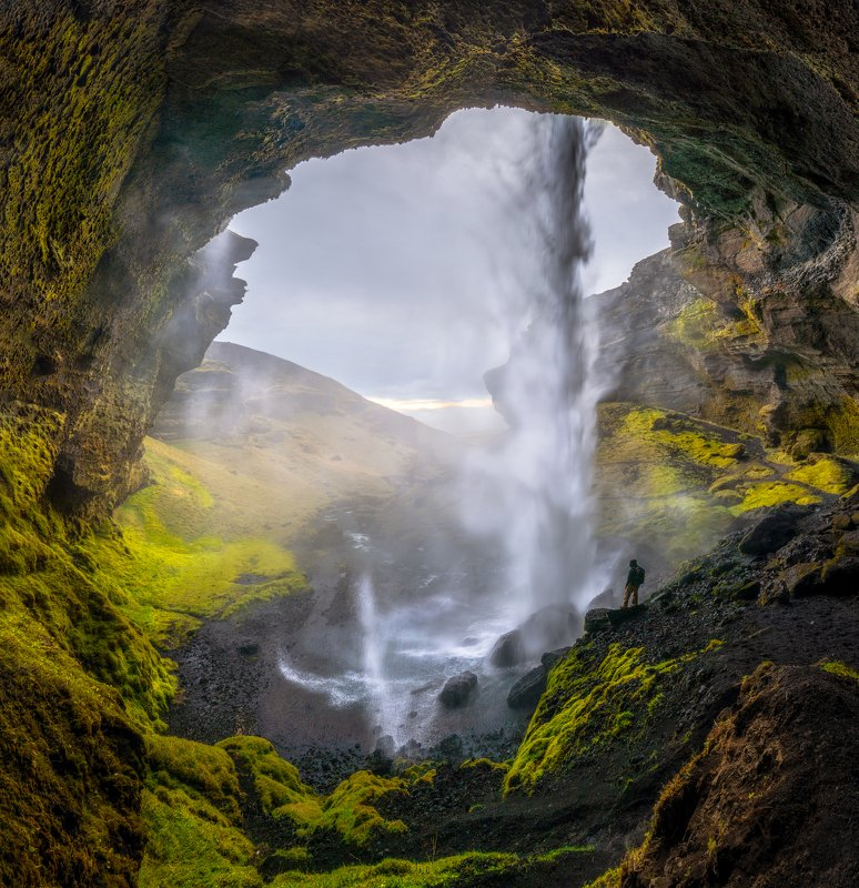 @landscape @mountains @sunset @iceland @photography @travel @waterfall Waterfallphoto preview