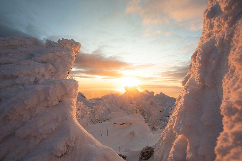 Таганай, восход, метеостанция, Златоуст В погоне за восходомphoto preview